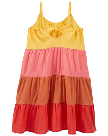 Tiered Gauze Sun Dress