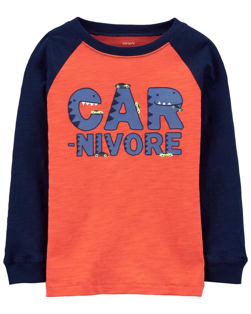 T-shirt en jersey dinosaure carnivore, , hi-res