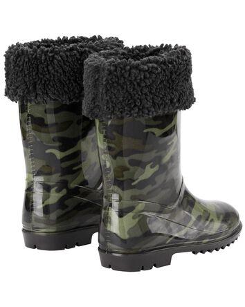 Camo Rain Boots