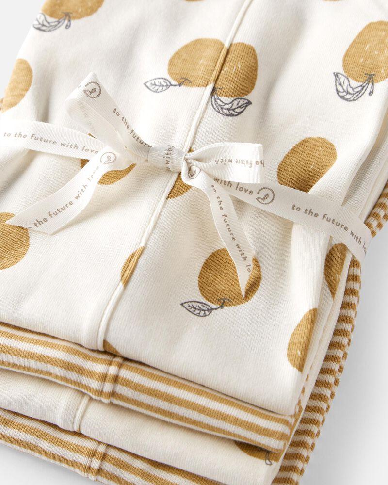 Emballage de 4 serviettes en coton biologique, , hi-res