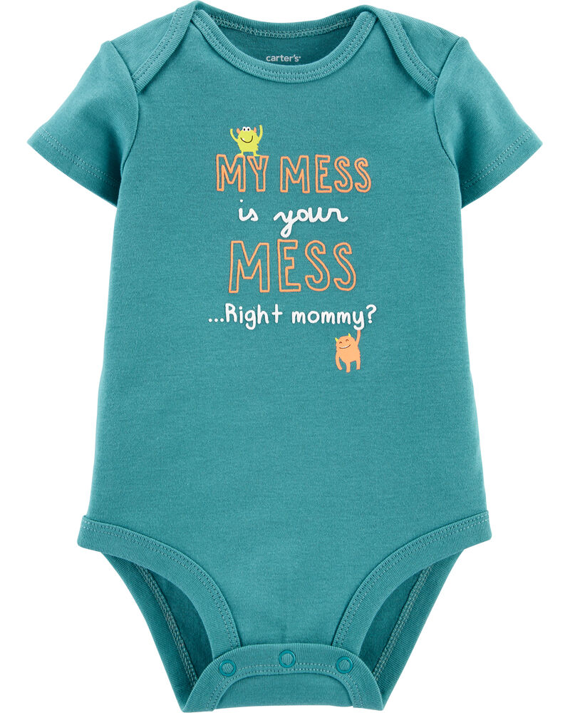 My Mess Is Your Mess Bodysuit, , hi-res