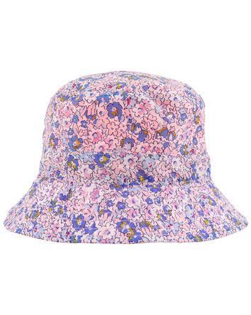 Reversible Floral Bucket Hat