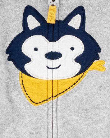3-Piece Wolf Cardigan Set