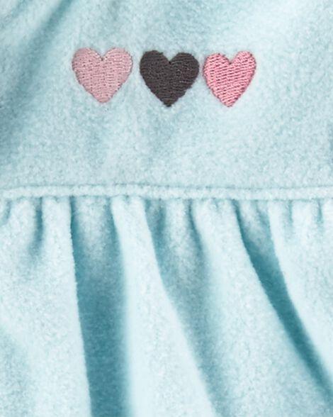 3-Piece Heart Little Vest Set