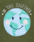 T-shirt en jersey Terre, , hi-res