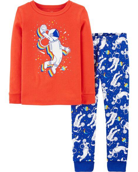 2-Piece Snug Fit Astronaut PJs