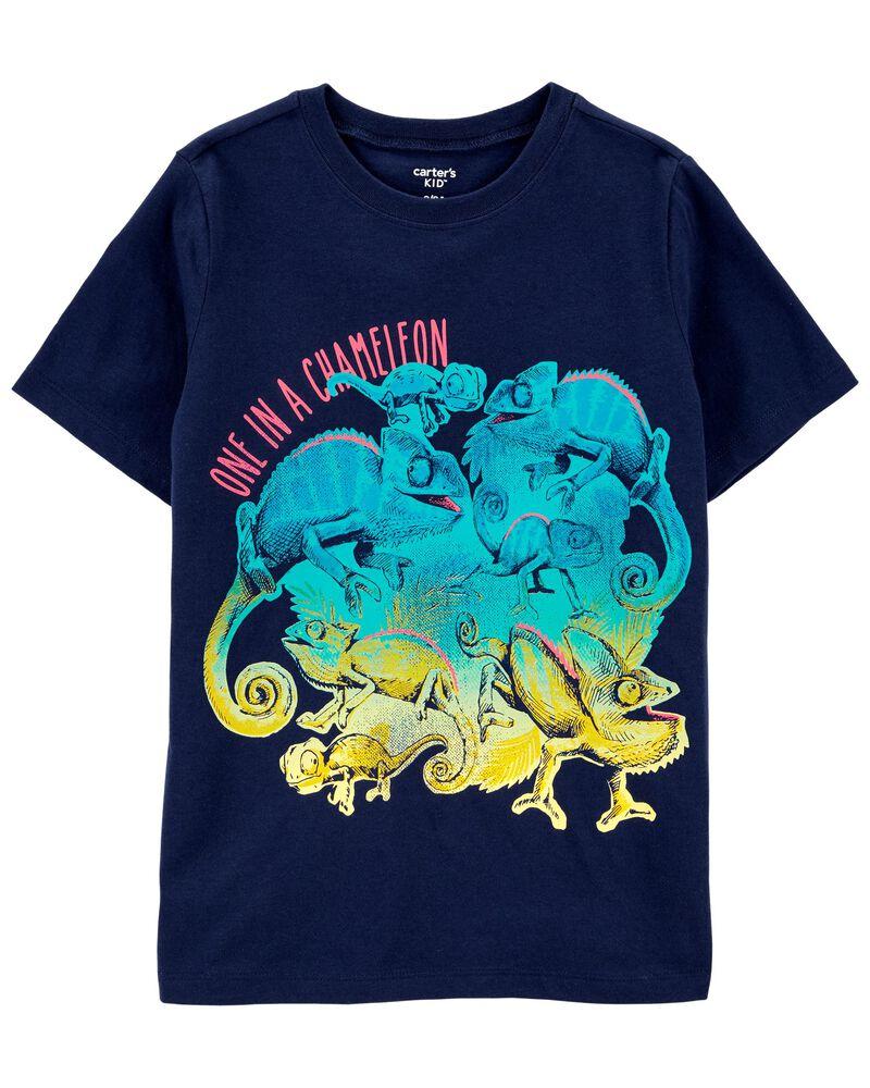 T-shirt en jersey caméléon, , hi-res