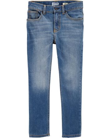 Regular Fit Skinny Jeans - Indigo B...