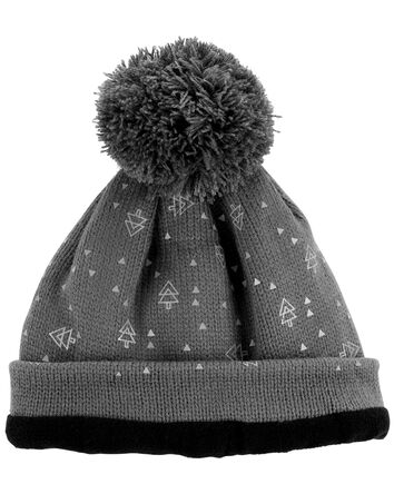 Reflective Band Winter Hat