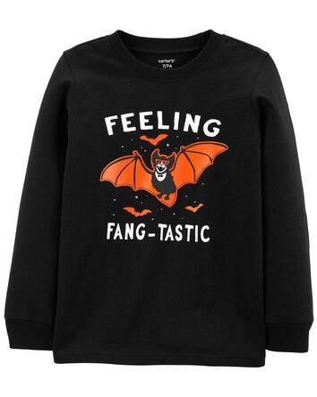 Halloween Bat Jersey Tee
