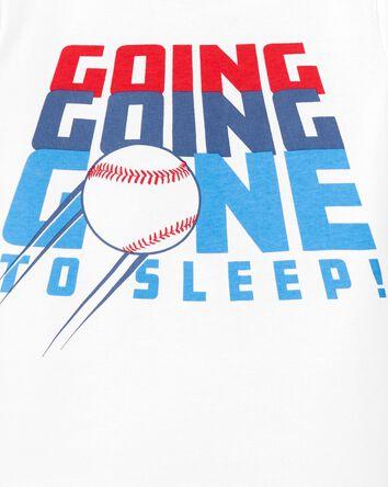 4-Piece Baseball 100% Snug Fit Cott...
