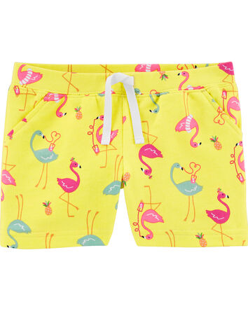 Flamingo Pull-On French Terry Short...