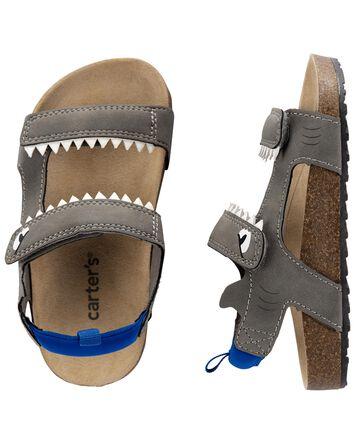 Sandales de jeu à requin