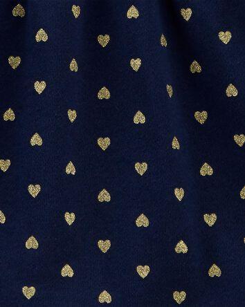 2-Piece Heart Fleece Top & Legging...