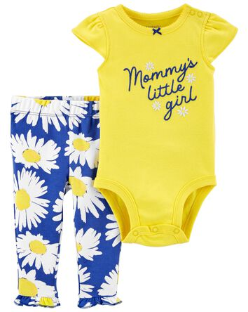 2-Piece Mommy's Little Girl Bodysui...