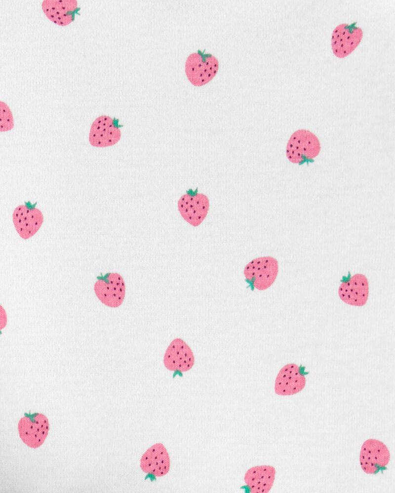 Ensemble 3 pièces petit gilet à fraises, , hi-res