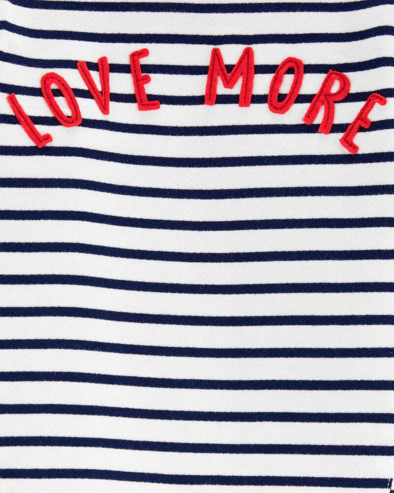 T-shirt à imprimé LOVE, , hi-res