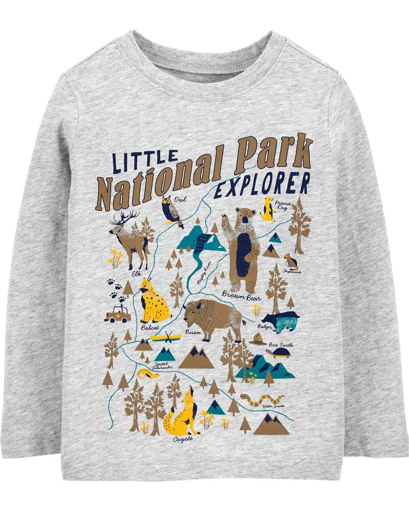 T-shirt en jersey National Park Explorer, , hi-res