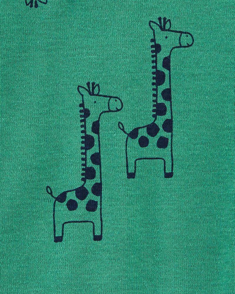 Cache-couche de style henley à girafe, , hi-res