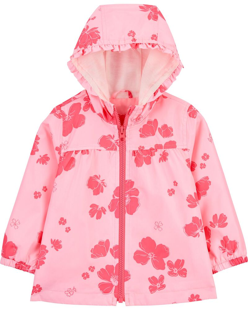 Floral Windbreaker, , hi-res