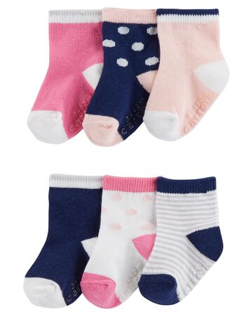 3-Pack Polka Dot Booties