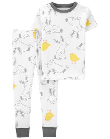 2-Piece Easter 100% Snug Fit Cotton...