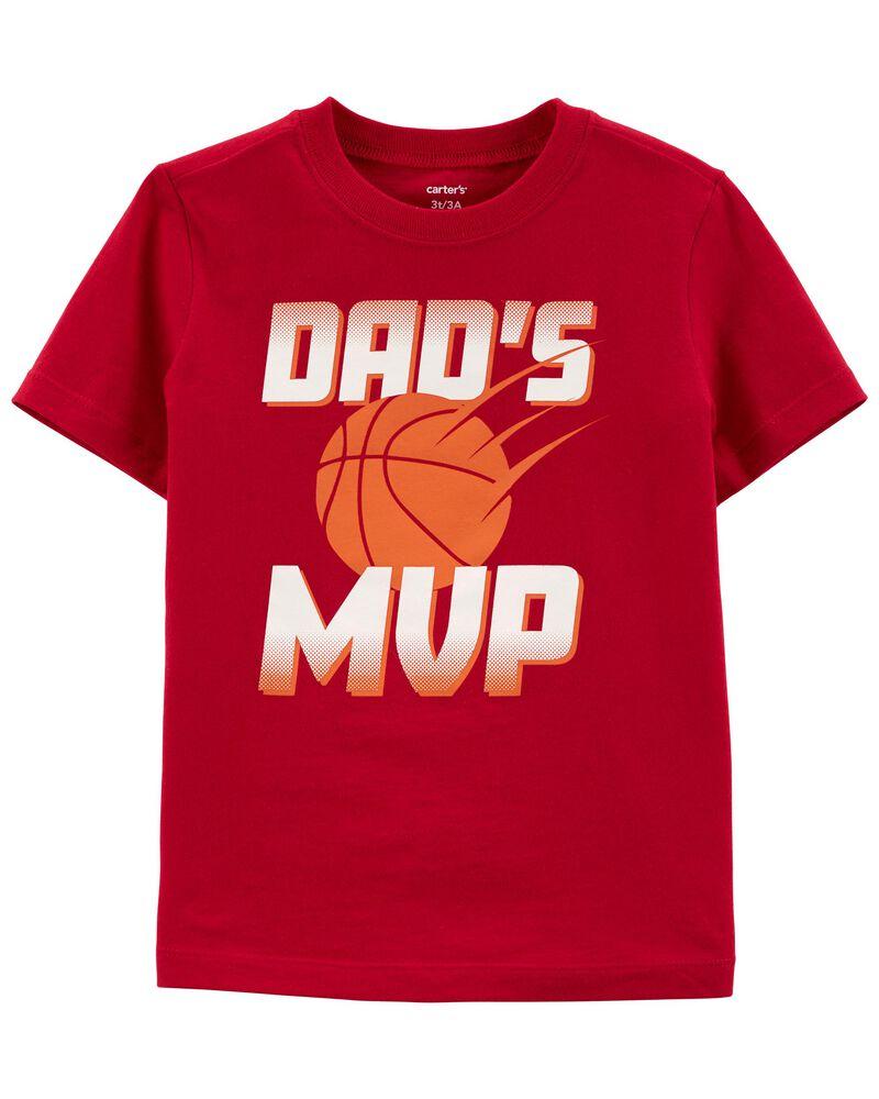 Dad's MVP Jersey Tee, , hi-res
