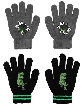 KOMBI 2-Pack Dinosaur Mini Glove Se...
