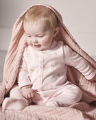 Organic Cotton Snap-Up Sleep & Play, , hi-res