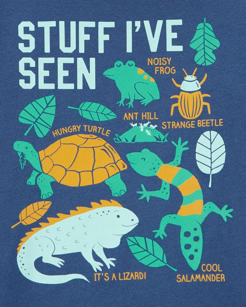 T-shirt en jersey à insectes, , hi-res