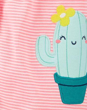 Cactus Snap-Up Romper