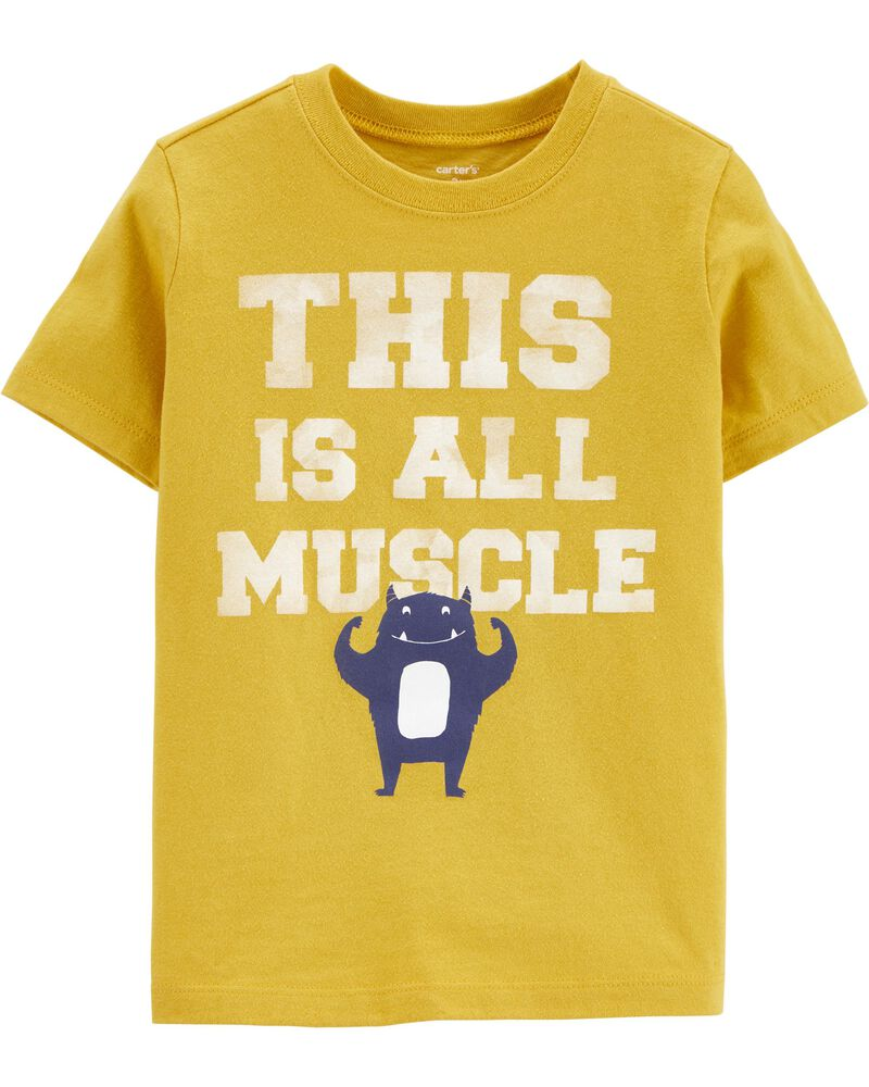 T-shirt en jersey Muscle Monster, , hi-res