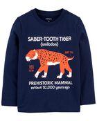 Tiger Jersey Tee, , hi-res