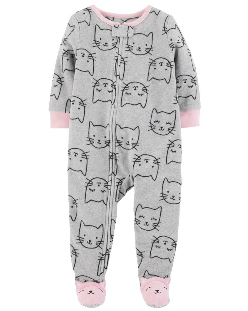 Pyjama fille pur coton chaton