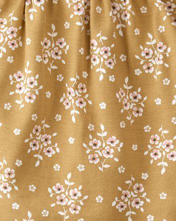 Robe cache-couche en coton côtelé b...