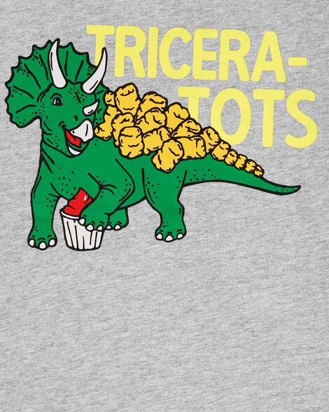 Dinosaur Tater Tots Jersey Tee