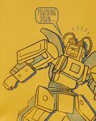 4-Piece Robot 100% Snug Fit Cotton PJs, , hi-res