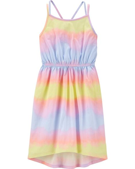 Tie-Dye Midi Dress
