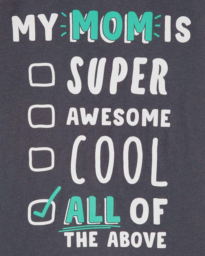 T-shirt en jersey Mom Is Super Awesome , , hi-res