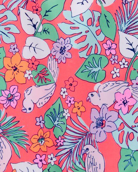 Maillot de bain une pièce fleuri tropical