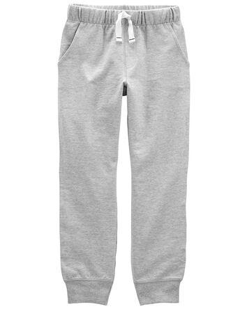 Pantalon de jogging en jersey boucl...