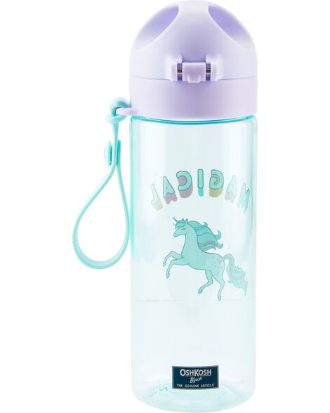 Bouteille d'eau à licorne