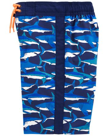 Sharky Swim Trunks