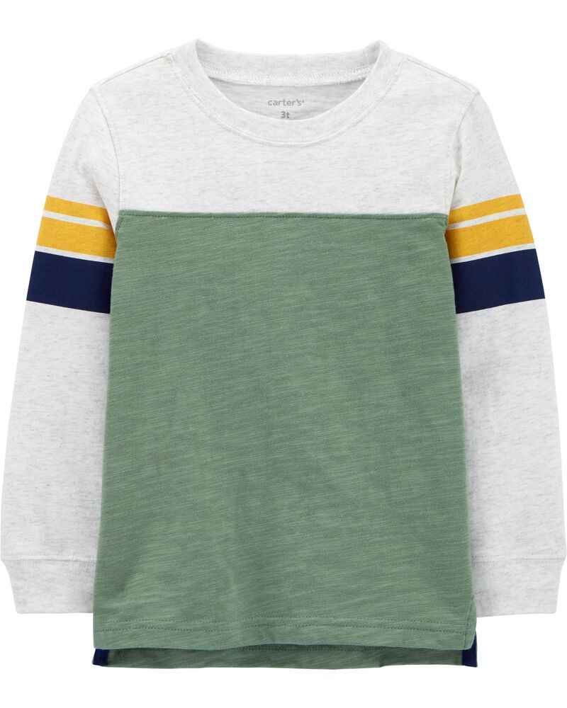 Striped Jersey Tee, , hi-res