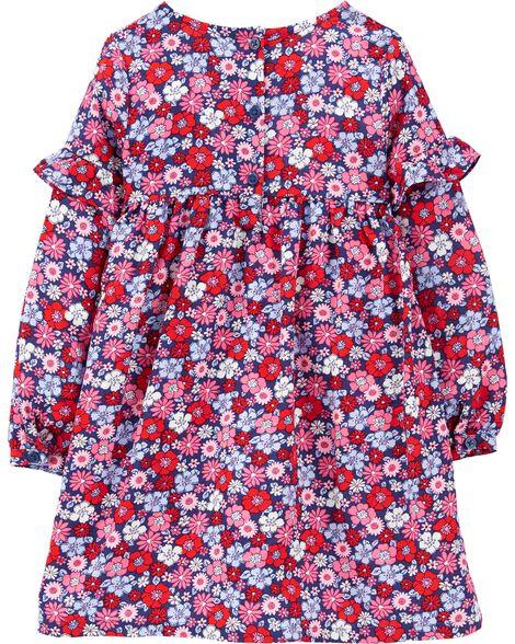 Robe fleurie ample