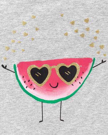Glitter Watermelon Racerback Tank
