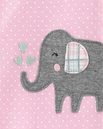 1-Piece Elephant 100% Snug Fit Cott...