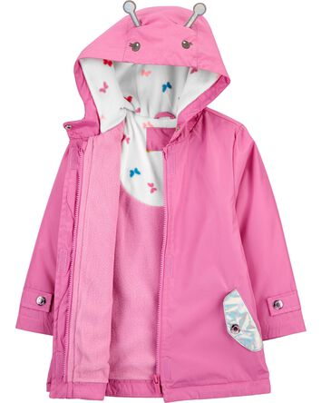 Holographic Butterfly Fleece-Lined...