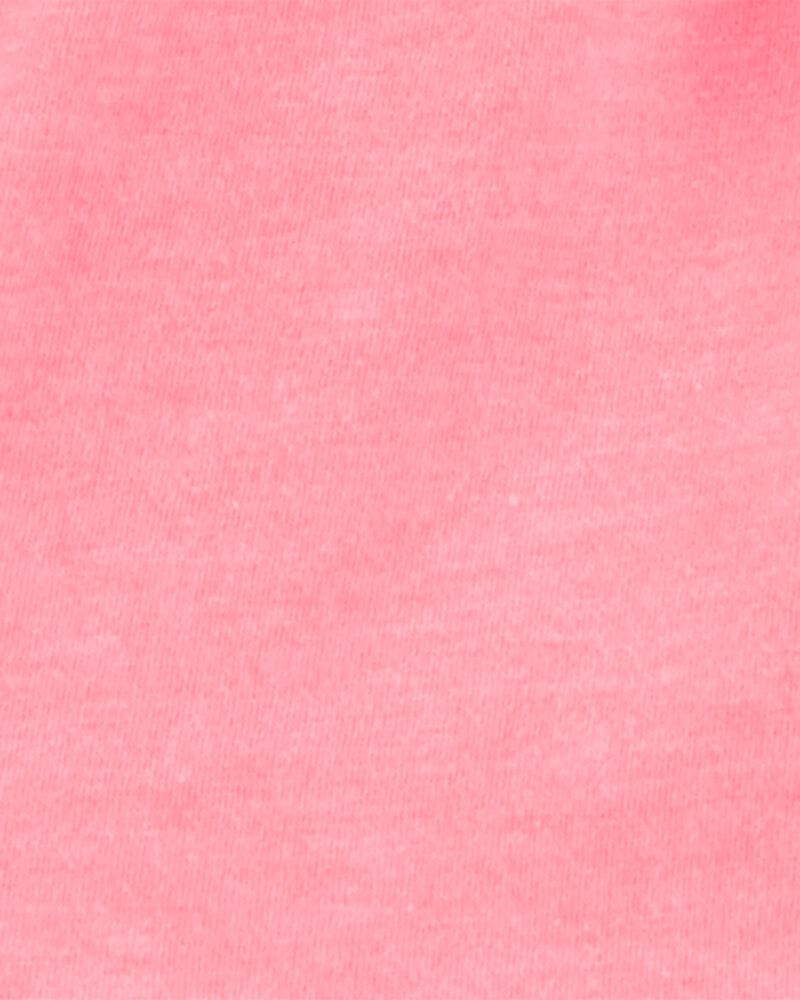 2-Piece Neon Ruffle Top & Striped Short Set, , hi-res