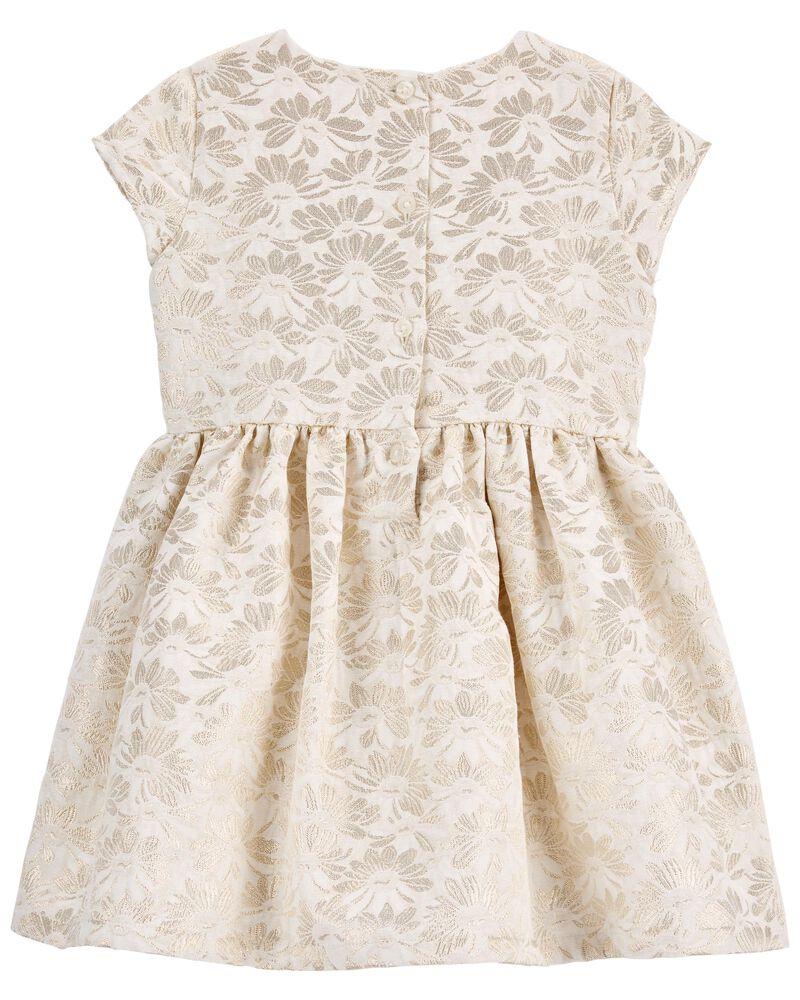 Jacquard Woven Dress, , hi-res